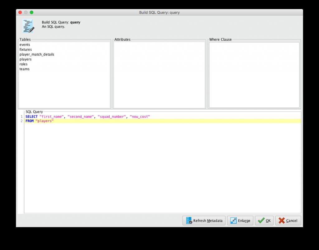Build SQL Query