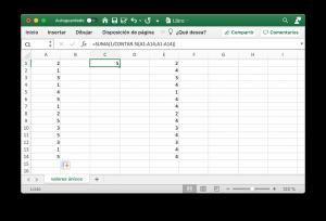 Contabilizar los valores únicos en Excel