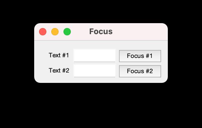 Formulario creado en Matlab con dos campos y dos botones.