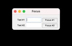 Formulario creado en Matlab después de pulsar sobre el primer botón, por lo que el foco se ha fijado en el primer campo.