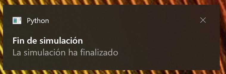 Notificación básica en Windows